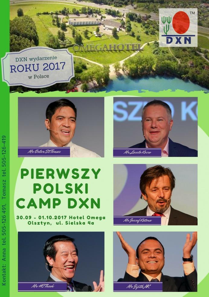 PIERWSZY POLSKI CAMP DXN