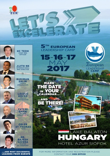 DXN European Leadership Camp