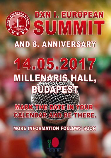 Erstes Großes Europäisches DXN Ländertreffen und Leadership Camp 2017