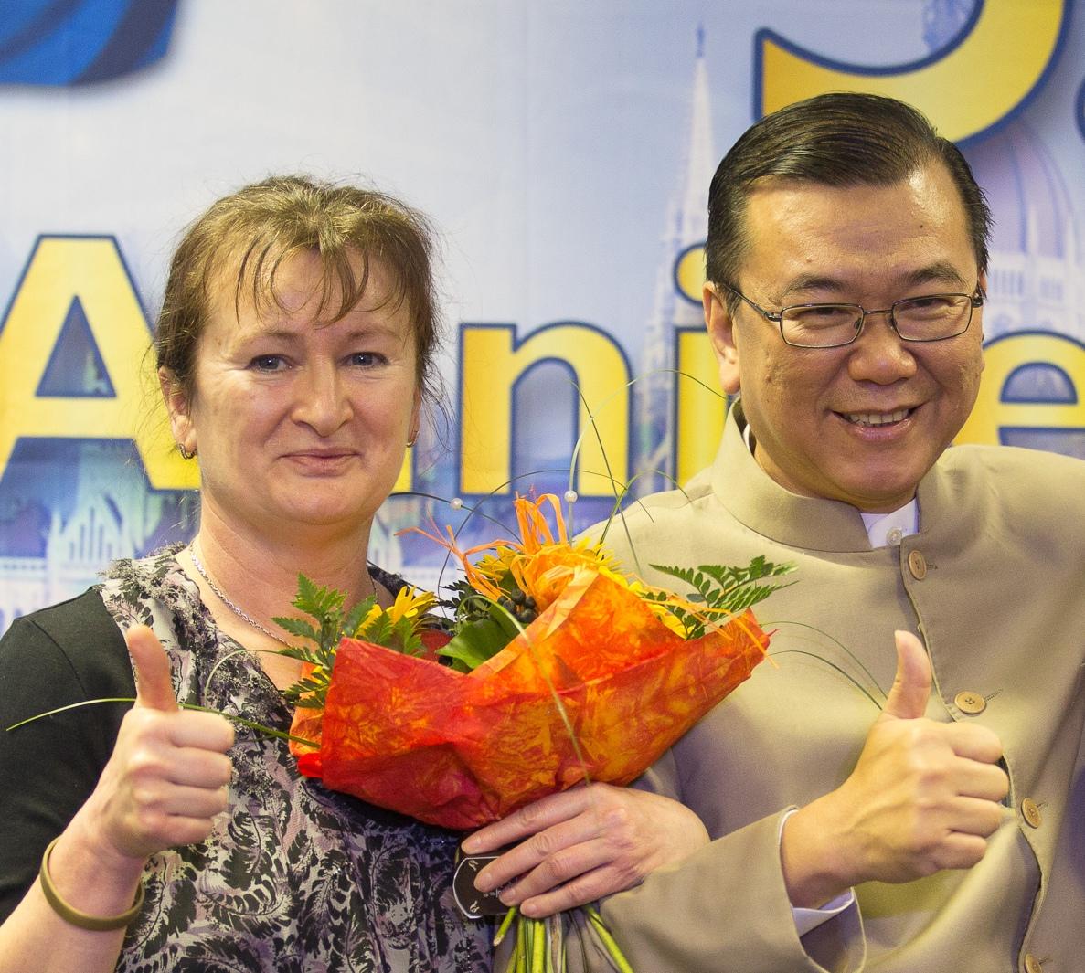 Újra találkozhattam a gyógygombák világhírű tudósával Dato' dr. Lim Siow Jinnel a DXN alapítójával!