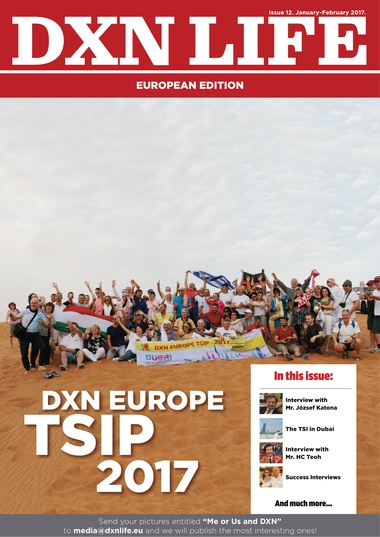 DXN Life European Edition Magazine