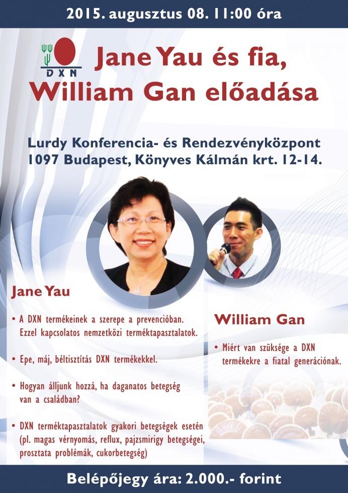 Jane Yau DXN Ganoterapeuta Budapesten