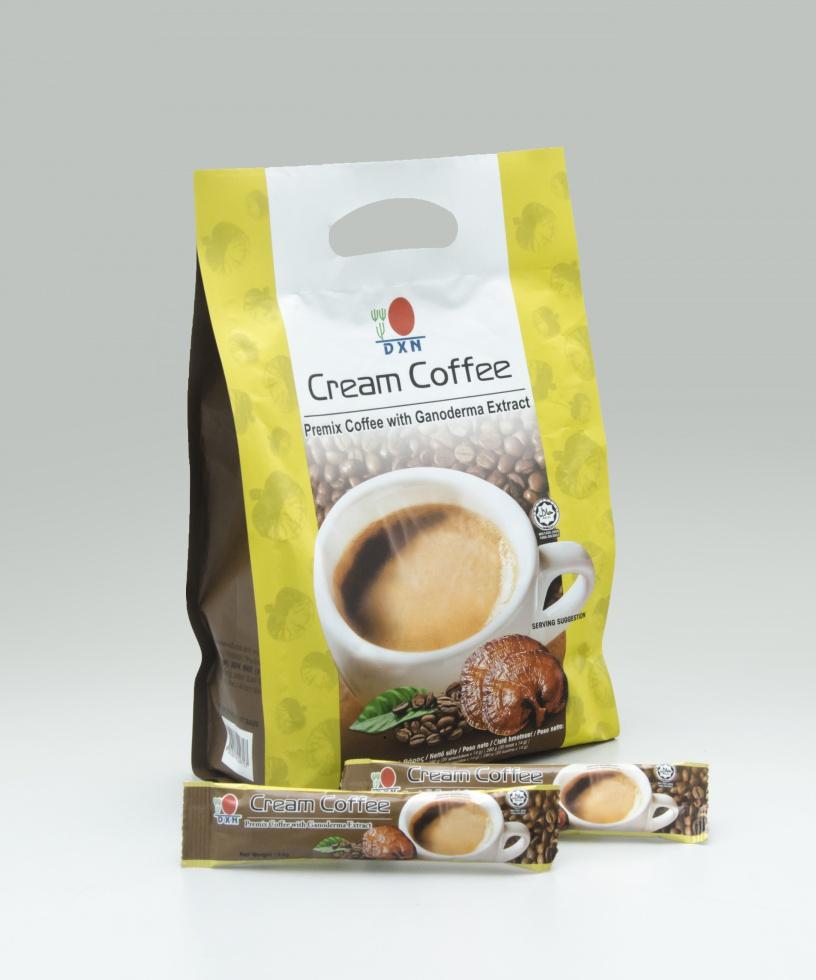 DXN Cream Coffee új csomagolásban