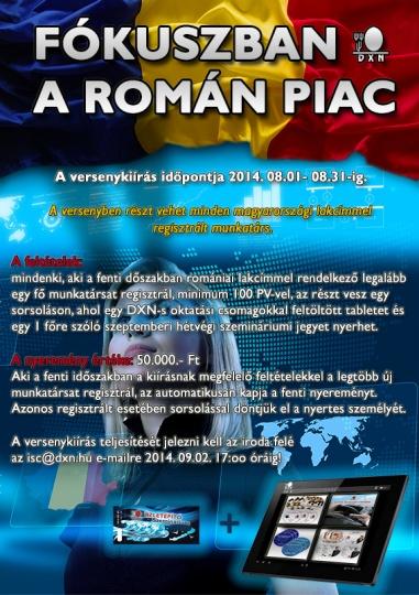 Fókuszban a Román DXN piac