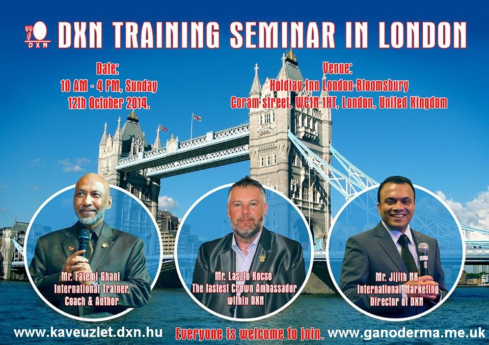 London waiting 4U! www.coffeebiz.mydxn.net