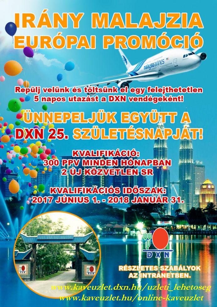 Malajzia rád vár! www.kaveuzlet.hu