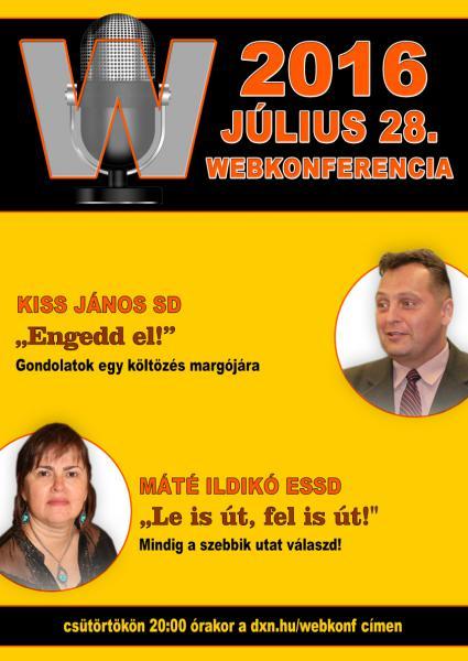 Webkonferencia www.kaveuzlet.hu 07 28