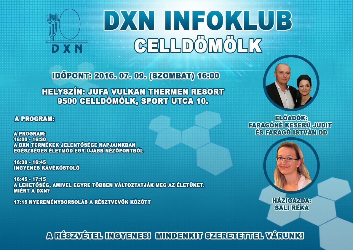 DXN Infoklub Celldömölk