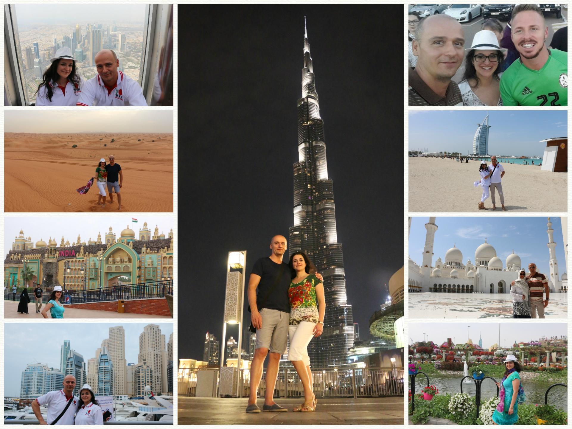 DXN Dubai TSI utazás