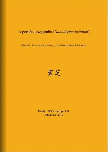 DXN Ganoderma füzet