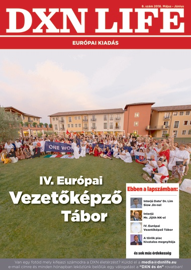 DXN Life Magazin 8. magyar kiadás