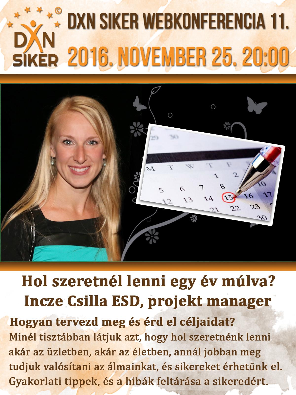 DXN Siker Webkonferencia 11.