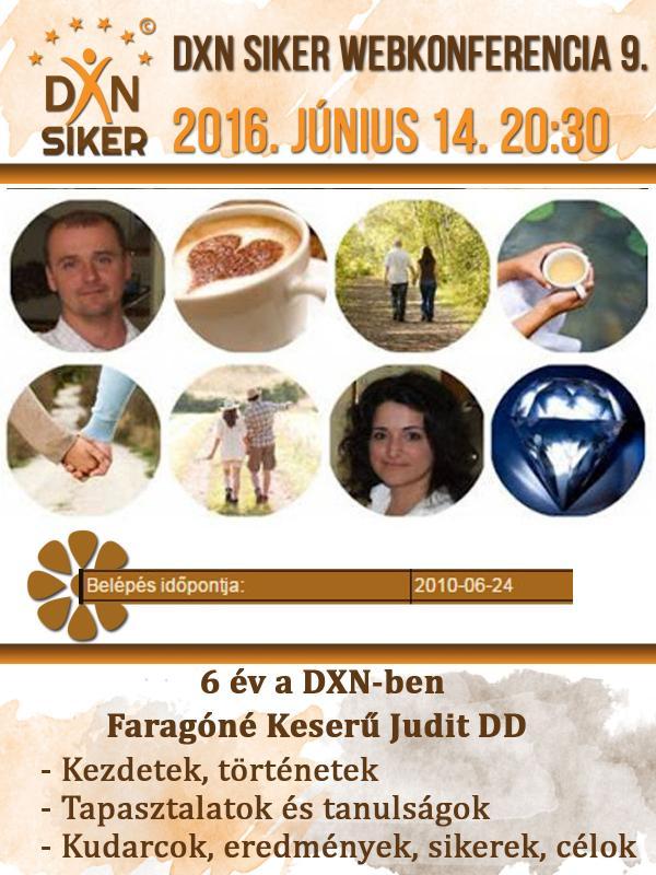 DXN Siker Webkonferencia
