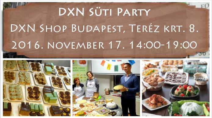 DXN Süti Party