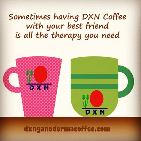 DXN Coffee therapy