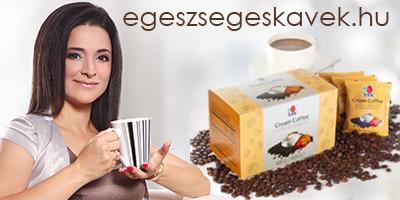 Faragóné Keserű Judit DXN egészséges kávék