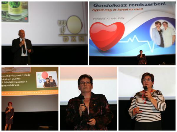 DXN előadók az egészség jegyében