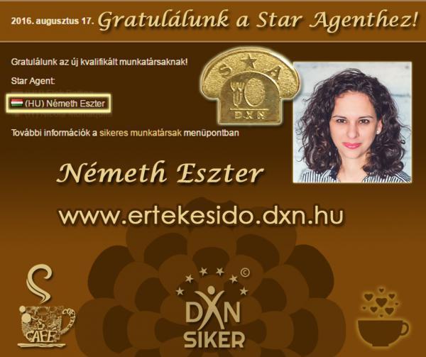 Németh Eszter DXN Star Agent