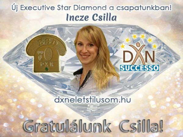 Incze Csilla DXN gyémánt