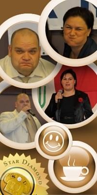 Aniko Pokovai & Albert Vizvari DXN Star Diamnonds