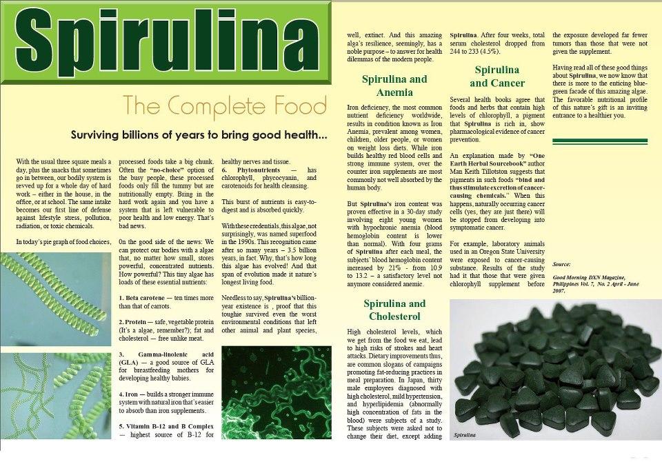 The Disadvantages of Spirulina