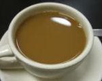 tejszínes kávé