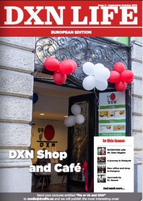 DXN Life európai kiadás 2015.nov.