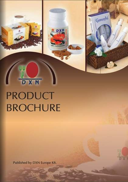 DXN Product Brossure