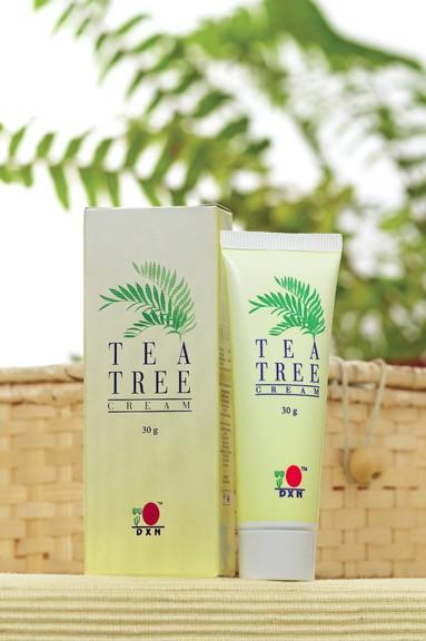 DXN Tea Tree Cream-Teafaolajos krém pattanások és csípések kezelésére
