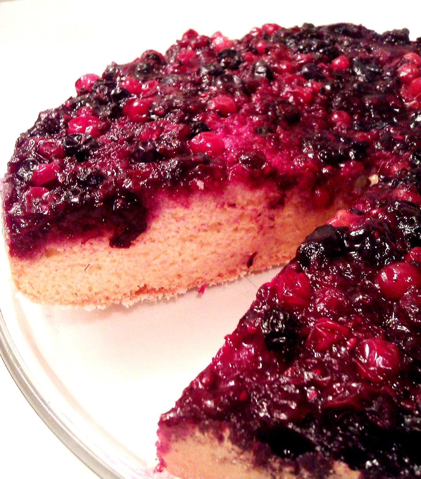 Erdei-gyümölcs torta
