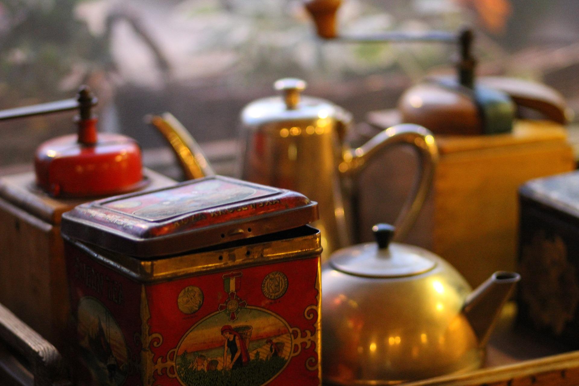vintage kávé