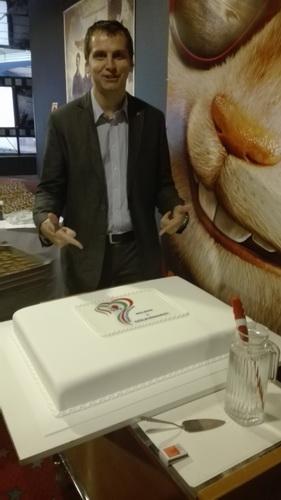 DXN 7. születésnap Én és a torta