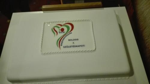 DXN 7. születésnap a torta