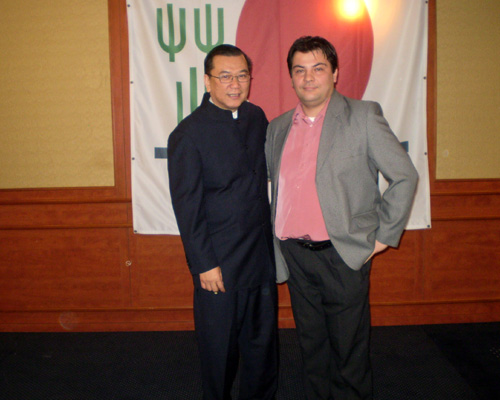 a DXN elnökével Dr. Lim Siow Jinel