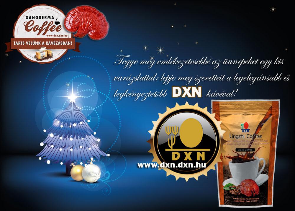 DXN kávét Karácsonyra