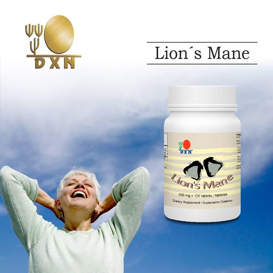 Laktózmentes DXN Oroszlánsörény tabletta