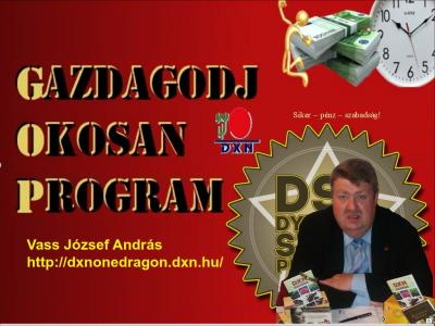 DXN Dynamic Start Program Gazdagodj Okosan Program