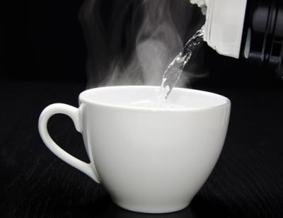 Egy csésze forró víz