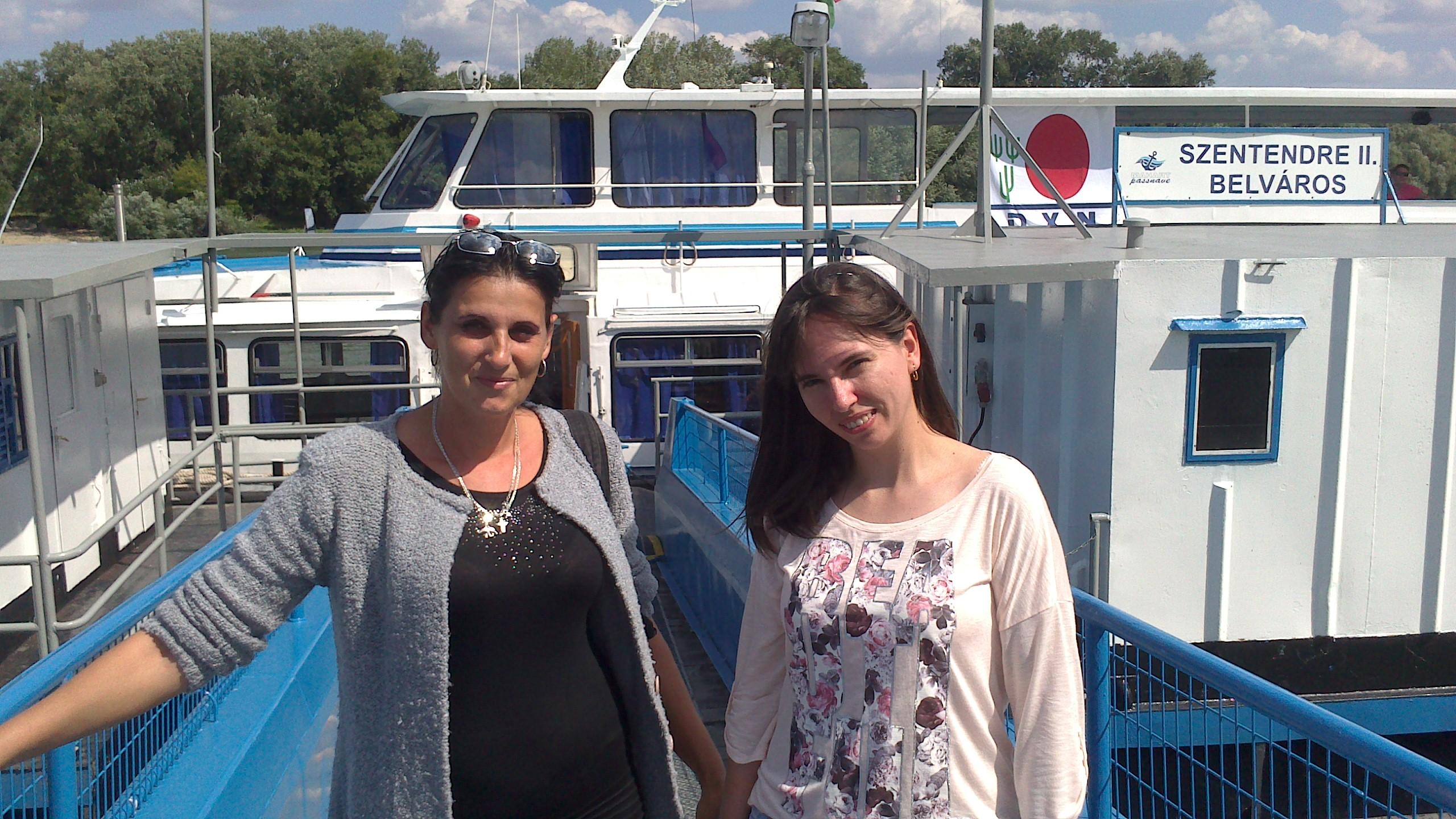 Hajókiránduláson voltunk