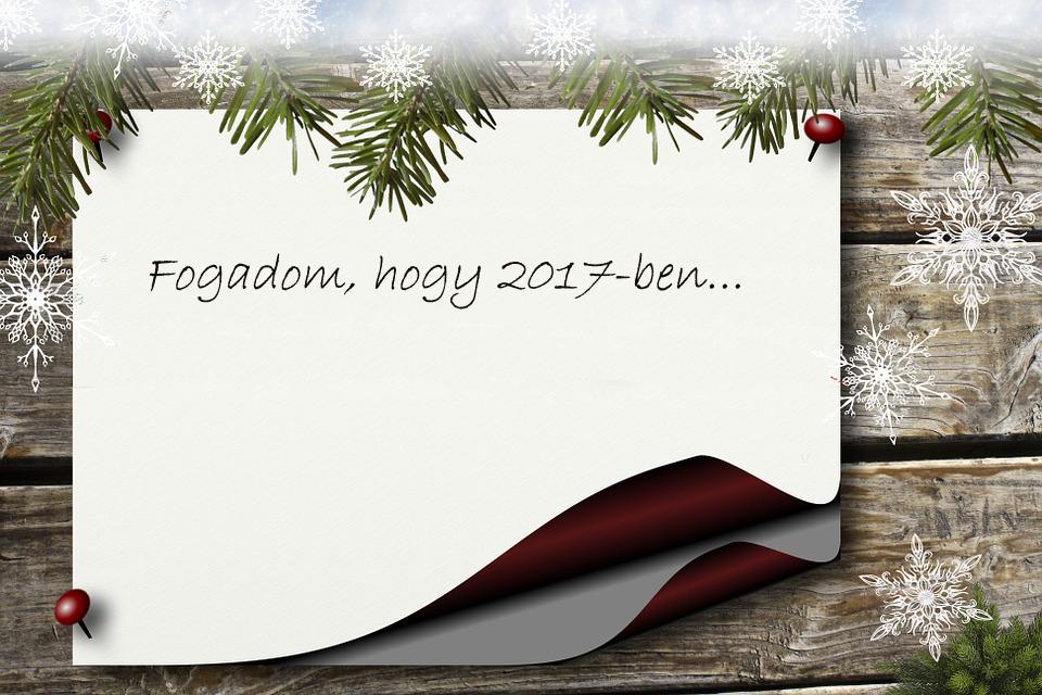 Újévi fogadkozások
