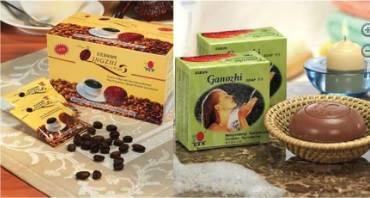 Ganodermás kávé és szappan