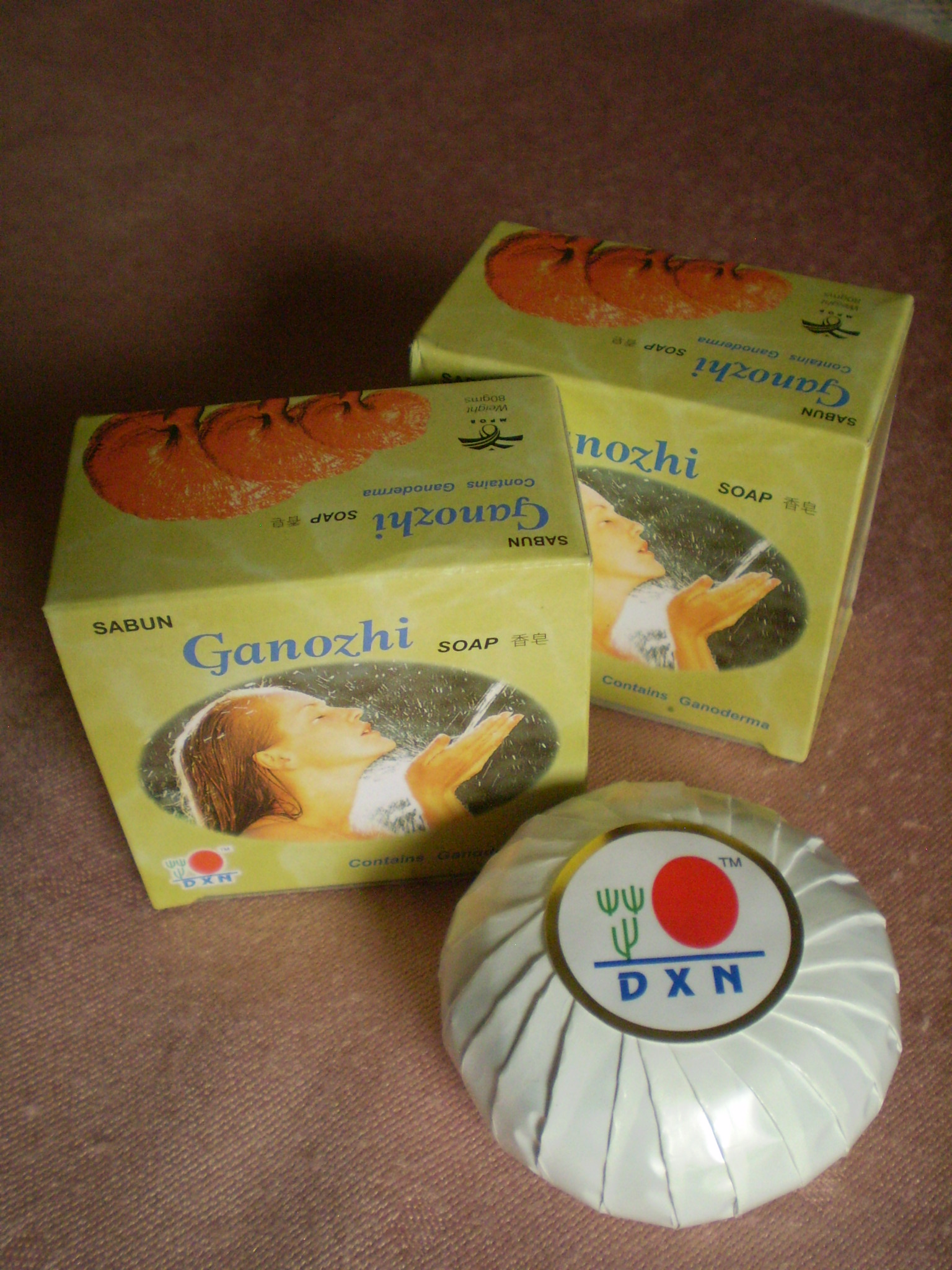 DXN Ganozhi szappan